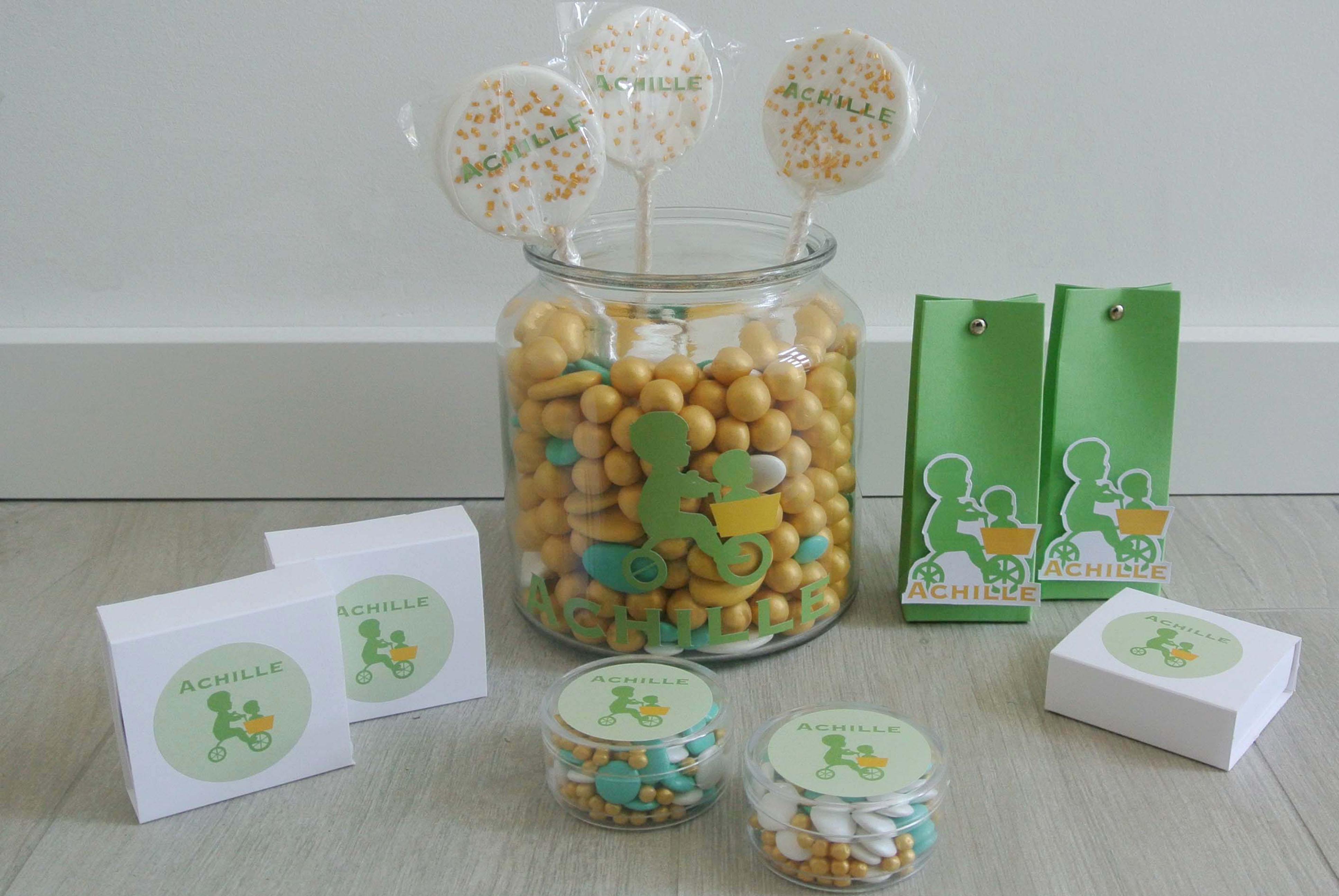 Suikerbonen - Doopsuiker - Geboortekaartje - Presentatie